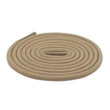 Coolstring – cordes rondes durables, en Polyester, série marron, couleurs assorties, pour hommes, pour randonnée, escalade, course de nuit, Sport, 4.5MM