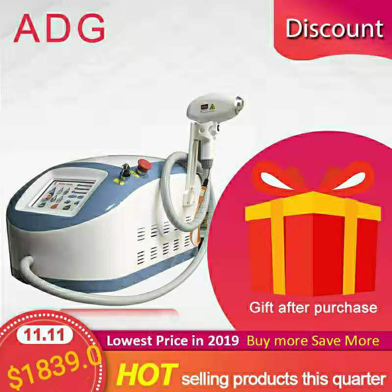 Newest Portable 808nm Hair Removal Machine Home Use For Hair Removal & Skin Rejuvenation