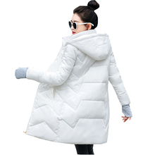 Parka Women Winter Coats Long Cotton Casual Hooded Jackets Women Autumn Thick Wa