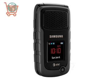 """Samsung smart phone A847 Rugby II Unlocked Phone 240 x 320 pixels GSM 2MP 2.2"""" 1300 mAh Mobile Cell Phone With Gifts 1"""