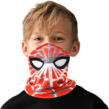 Multifunctional Child Masks Spider-Man Face-mask Sunscreen Sports Mask Outdoor Riding Magic Headscarf Kid Christmas Toys Gift