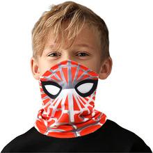 Wielofunkcyjne maski dla dzieci Spider-Man maska przeciwsłoneczna maska sportowa jazda na zewnątrz magiczna chusta Kid zabawki bożonarodzeniowe na prezent tanie tanio Disney Model CN (pochodzenie) Unisex NO eat As show Odzież obuwie cap Remastered version 3 lat Urządzeń peryferyjnych