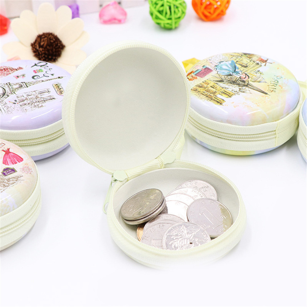 6Models, Multi- Pattern Cute Wallet Women Kids Girls Gift Cartoon Bag Keys Pouch Mini Coin Purse small wallet for coin, earphone