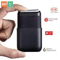 Xiaomi-Afeitadora eléctrica Mijia Braun para hombre, máquina de afeitar con 2 hojas, recargable por USB, miniafeitado en húmedo, lavable, para Barba