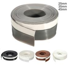 Window Door Silicone Rubber Weather Draught Excluder Self Adhesive Window Door Seal Strip Window Accessories Sealing Tape