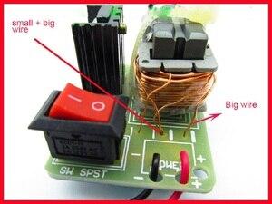 Image 4 - 15KV High Voltage Inverter Frequency DC  Generator Spark Arc Ignition Coil Module 18650 DIY Kit U Core Transformer Suite 3.7V