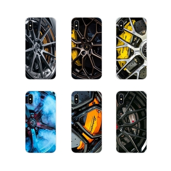 Sports car Wheels rims vehicles Accessories Phone Skin Cover For Samsung Galaxy S2 S3 S4 S5 Mini S6 S7 Edge S8 S9 S10E Lite Plus image