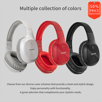 EDIFIER W800BT Wireless Bluetooth Headphones Bluetooth v4.0 40mm Drivers Unit Up to 50 hours Using Battery Stereo HIFI Headset фото