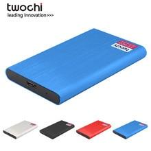 TWOCHI-Disco duro externo portátil de Metal para PC/Mac, Xbox, PS4, almacenamiento de 160GB, 250GB, 320GB, 500GB