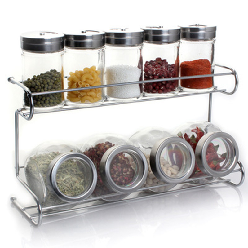 13 Piece Set Seasoning Bottle Seasoning Salt And Pepper Seasoning Box Spice Container Spice Jar Seasoning Box Kitchen Tools