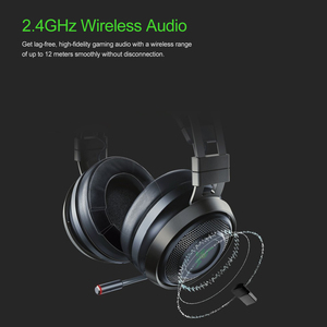 Image 5 - Razer Nari Ultimate Gaming ชุดหูฟังหูฟังไร้สายหูฟัง 7.1 หูฟังเสียงรอบทิศทาง THX เชิงพื้นที่เสียง Haptic ข้อเสนอแนะ