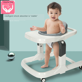 Hot Baby Walker Anti-O Type Leg Rollover 6-24 Months Girl Male Baby Multifunctional Young Children Hand Push Can Sit new design baby walker multifunctional music plate u type folding easy anti rollover safety scooter baby walkers portable carry