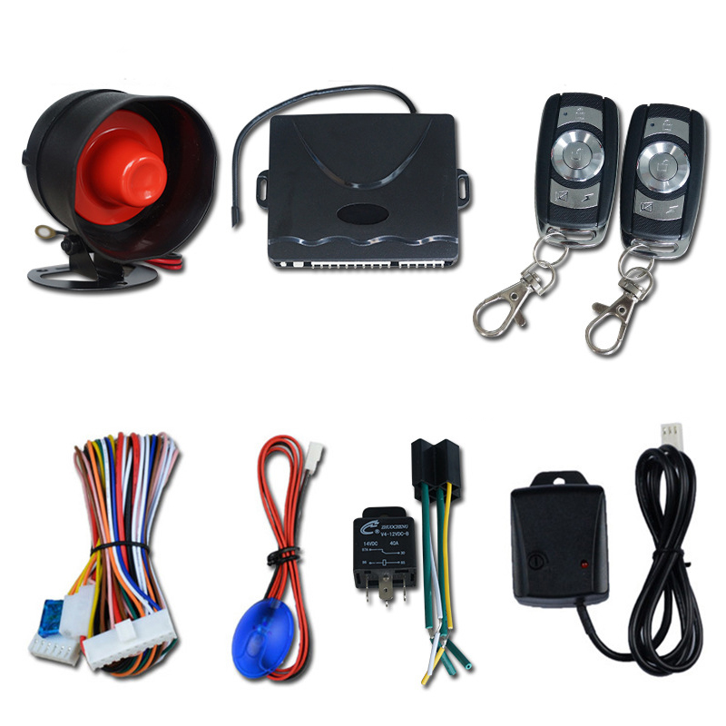 Araba alarmı  yerinde alarm tek yönlü hırsız alarmı  evrensel akıllı hırsız alarmı  akıllı araba hırsız alarm sistemi|Alarm Sistemi Kitleri|Güvenlik ve Koruma - title=