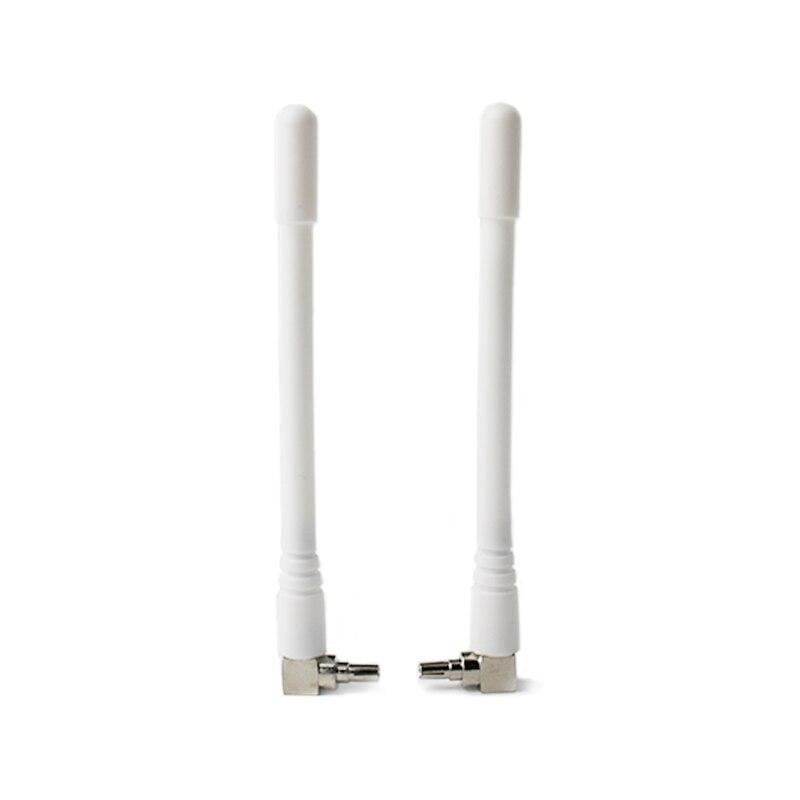 4g lte antena 1900-2600mhz 9dbi ts9 crc9 conector para huawei roteador b618 e5577 e3276 impulsionador de sinal 2 peças