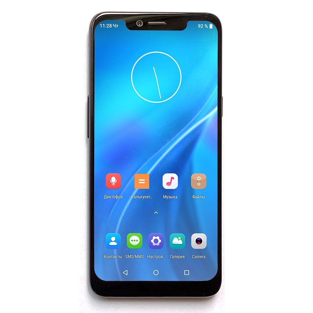 "Snapdragon 636 6 / 128 GB 6.18 ""1080*2246 Full HD ekran SANTIN K1 LTE 4G cep telefon Smartphone P30 P40 Mate 30 Pro max"