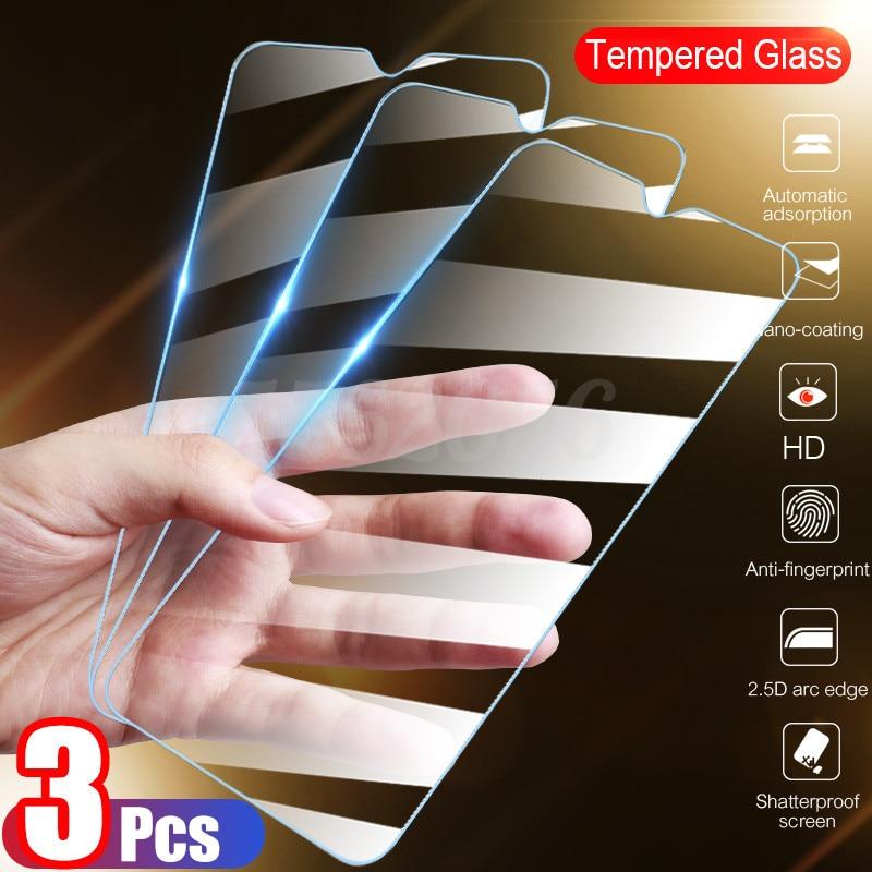 3 pçs vidro temperado para huawei p30 p40 lite p20 p inteligente 2019 protetor de tela de vidro protetor em mate honra 30 20 10 lite 8x 9x