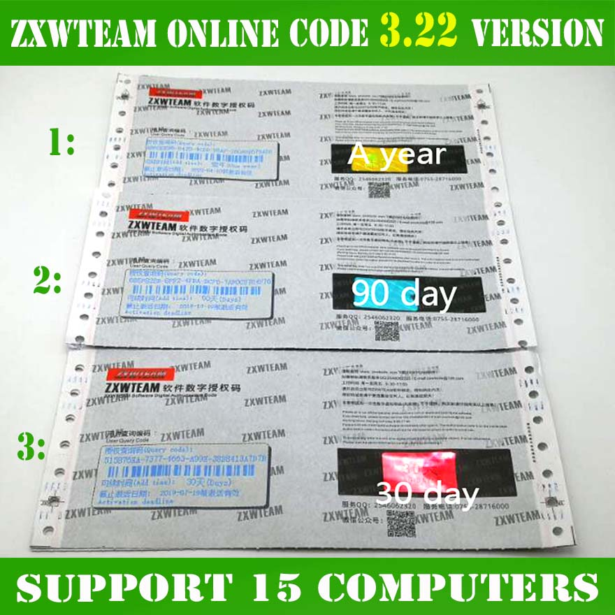 Online ZXW Team 3.22 Schematics Digital Authorization Code Zillion X Work Circuit Diagram For IPhone IPad Samsung Logic Board