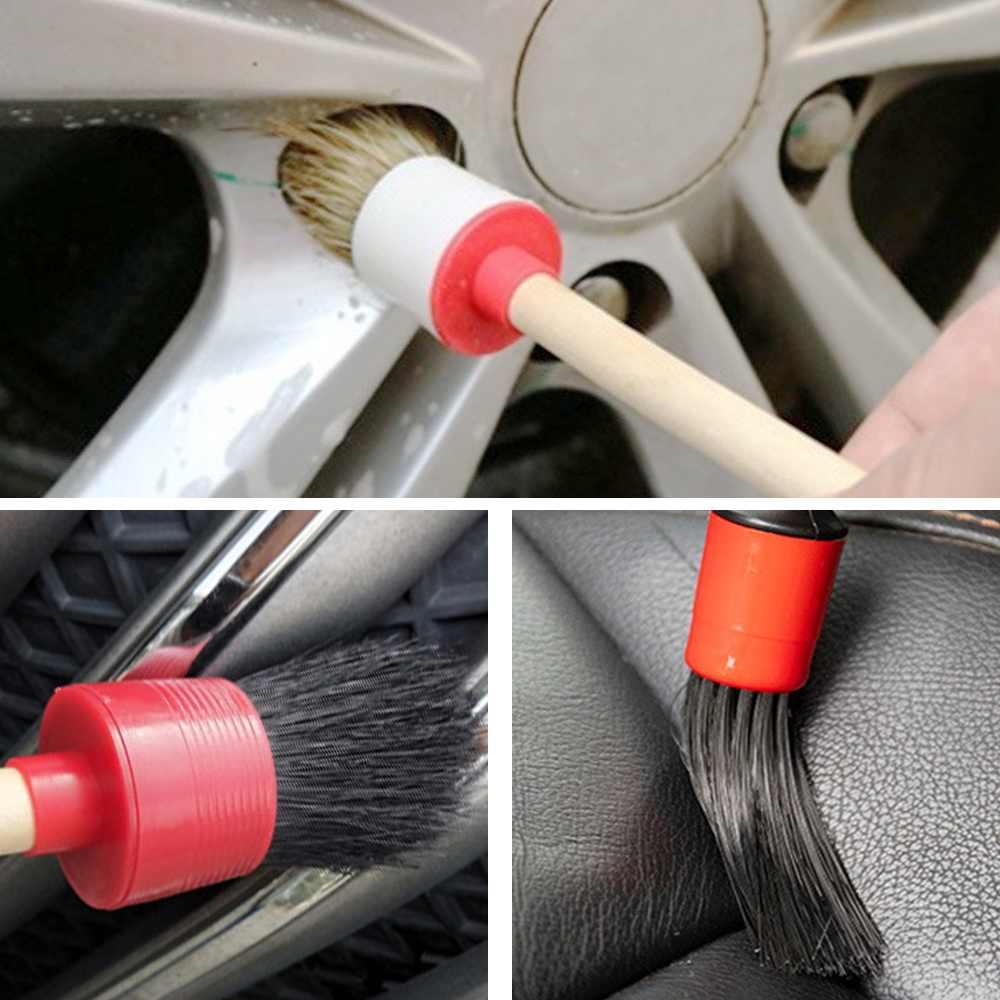 Auto Detaillering Borstel Auto Cleaning Borstels Wiel Dashboard Air Kloof Schoonmaken Ontluchter Bekleding Detaillering Clean Tool