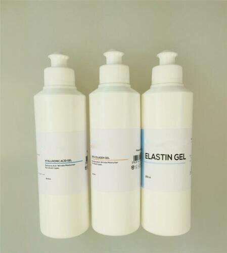Pure Hyaluronic Acid Anti-Ageing Collagen Elastin Gel Wrinkle Filler 3 X 250ml Free Ship