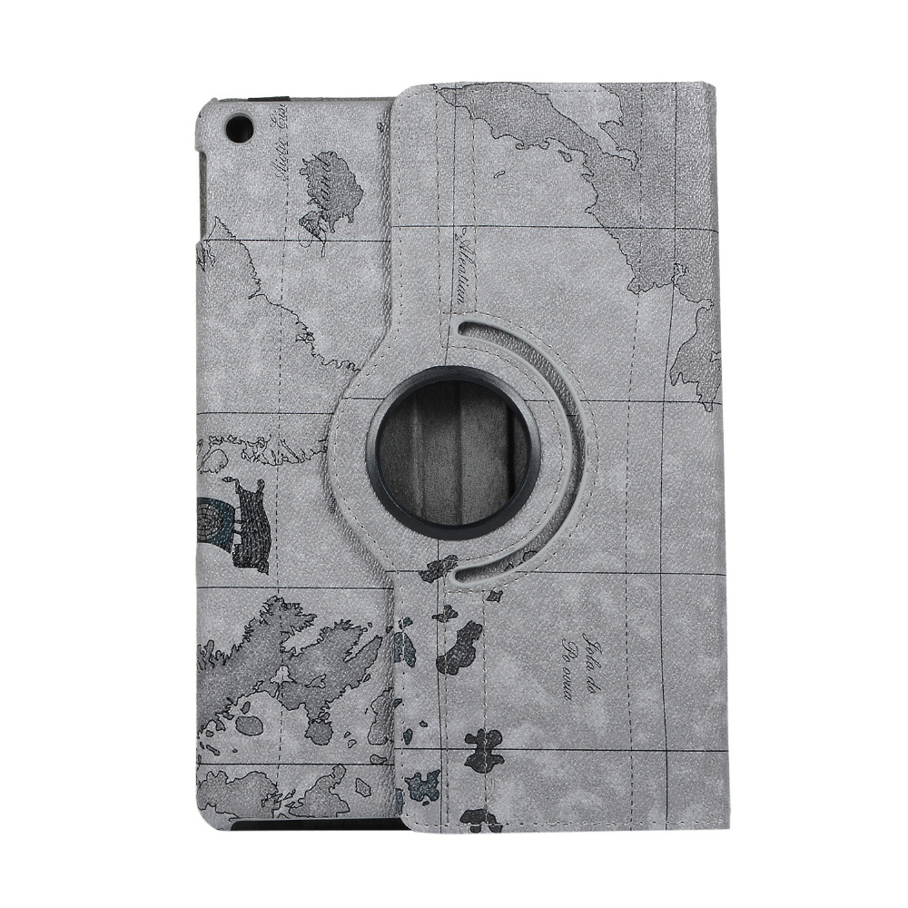 Rotating-Case 7th-Generation iPad Wake Cover Apple for 360-Degree Film--Pen Wake A2197