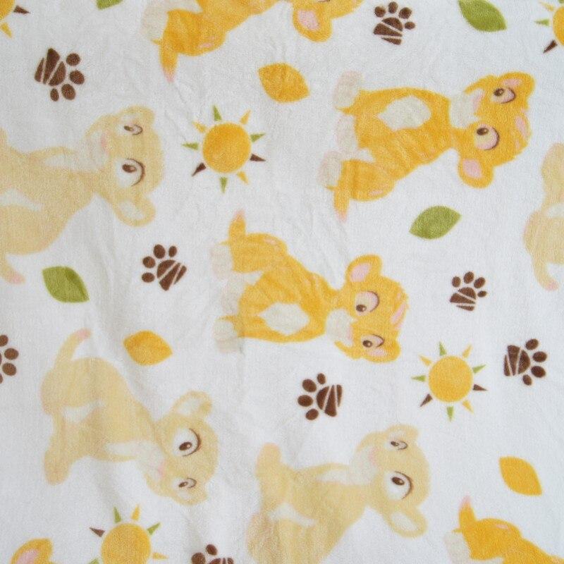 simba lion king blanket 100X150 (1)