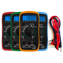 Urijk XL830L Handheld Digital Multimeter LCD Backlight Portable AC/DC Ammeter Voltmeter Ohm Voltage Tester Meter Multimetro(China)