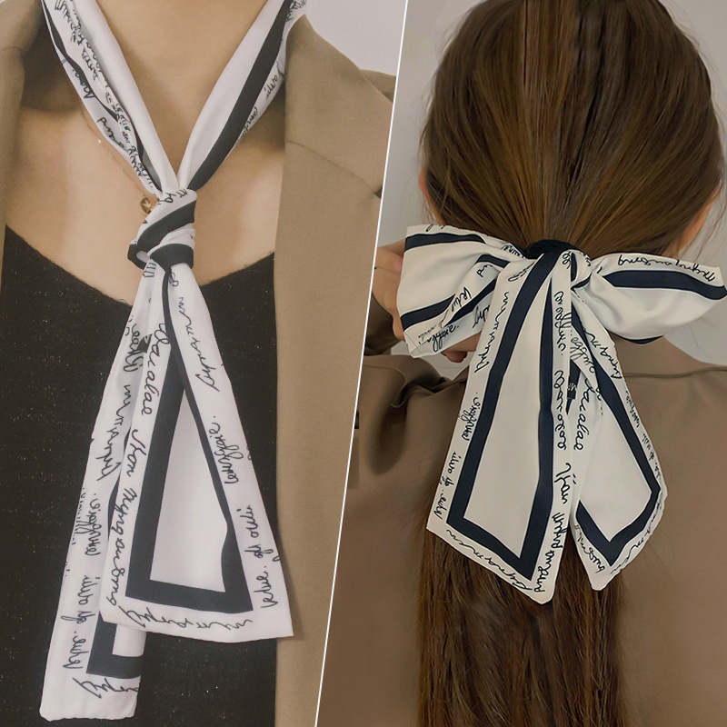 Hot New Multifunction Long Ribbon Women Girls Hair Head Bands Bandana Accessories Tie Headband Turban Hairband Headdress