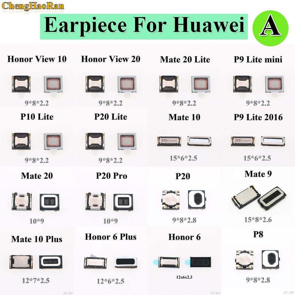 2pcs 100% New Top Front Earpiece Ear Speaker For Huawei Honor 6 6 Plus View 10 20 Mate 9 10 Plus 20 P9 Lite 2016 Mini P20 Pro