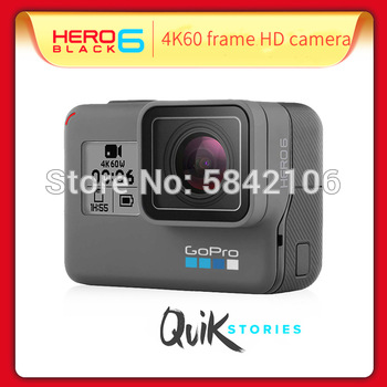 Gopro hero 6 esporte câmera de movimento 4k câmera de vídeo ação câmera edição 4k ultra hd wi-fi câmera à prova dwaterproof água 1