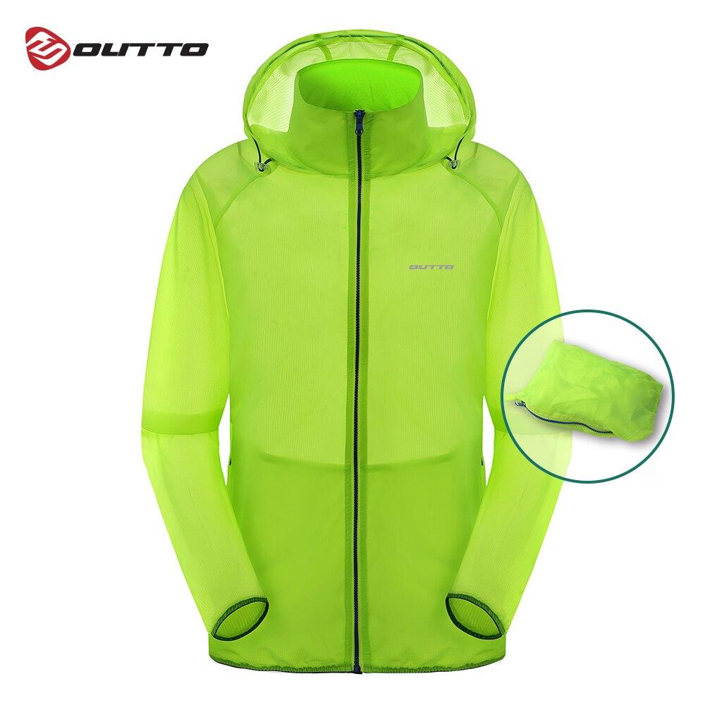 Мужская велосипедная куртка Outto, ветрозащитная Спортивная кожаная куртка, дышащая водонепроницаемая велосипедная ветровка с защитой от УФ лучей|Куртки для велоспорта| | АлиЭкспресс