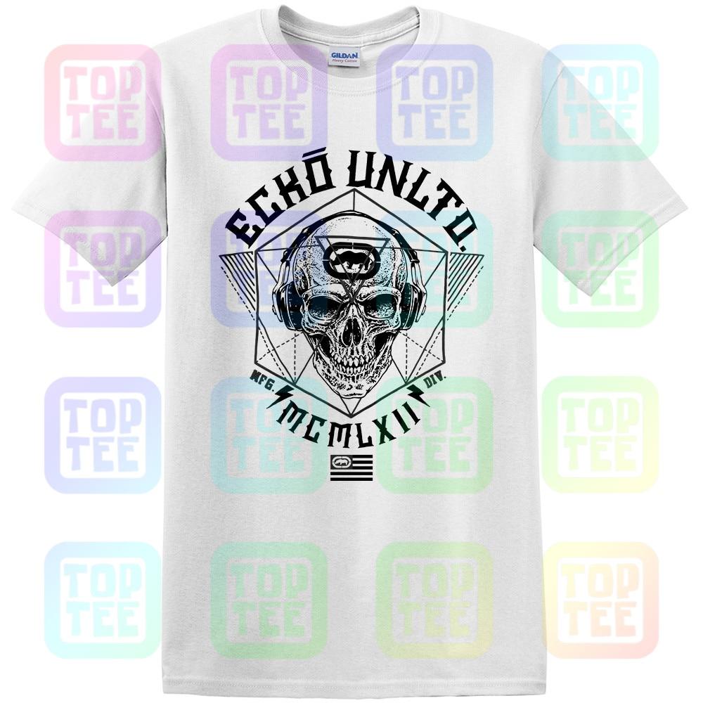 Mens Melted Bright Graphic T-Shirt black S Ecko Unltd