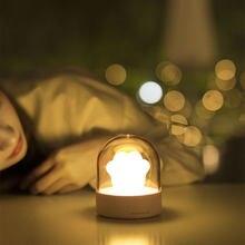 Светодиодный музыкальный светильник «кошачья лапа» лампа с зарядкой