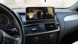 Image 2 - Snapdragon 8 Core מעבד 4 + 64G רכב מולטימדיה עבור BMW F25 F26 2011 2016 GPS רדיו אנדרואיד 10.0 WIFI BT IPS מגע 1920*720 4G LTE