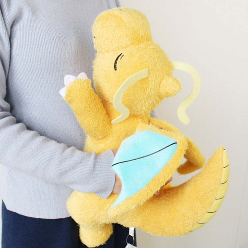 Original Pocket Monster Jumbo Dragonite Plush Doll Stuffed Animals Toy 42cm Gift
