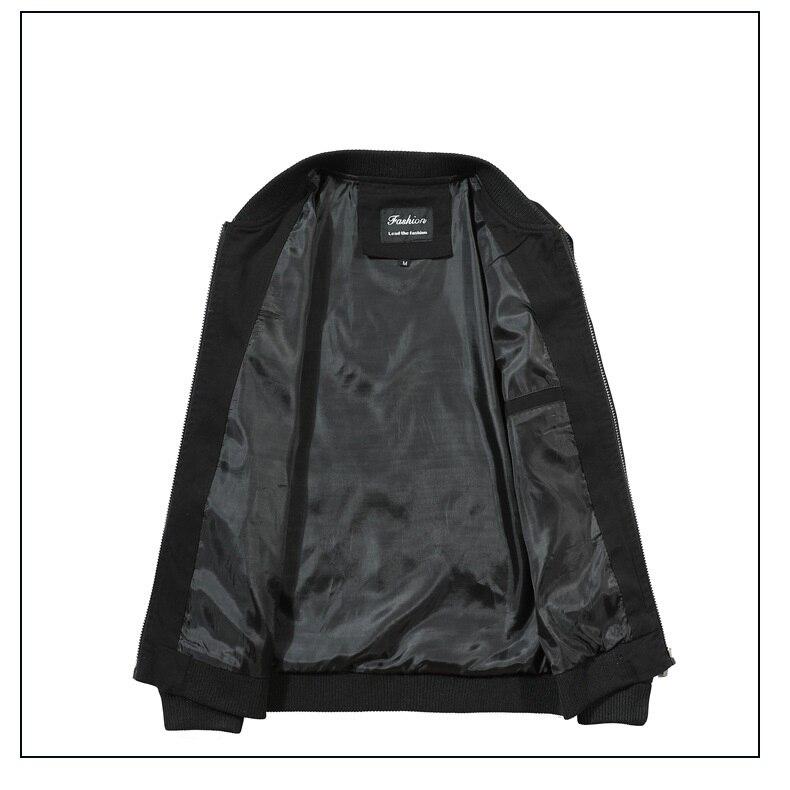 Hd875c625f1ad4f33a3ace761f944759b8 2019 Men Jacket Casual Cotton Washed Retro College Baseball Workwear Business Black Vintage Coat Male Spring Autumn Jacket Men