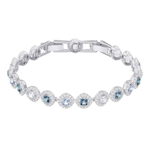 High Quality SWA Original SWA Angel Square Bracelet Lady's Single Row Round Bracelet цена