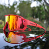 2019 nova marca polarizada óculos de ciclismo mountain bike ciclismo óculos ao ar livre esportes ciclismo óculos uv400 4 lente 10