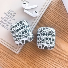 skull-shaped Case For apple Airpods Bluetooth Earphone Charge Protective Cases earphone Accessories Apple AirPods