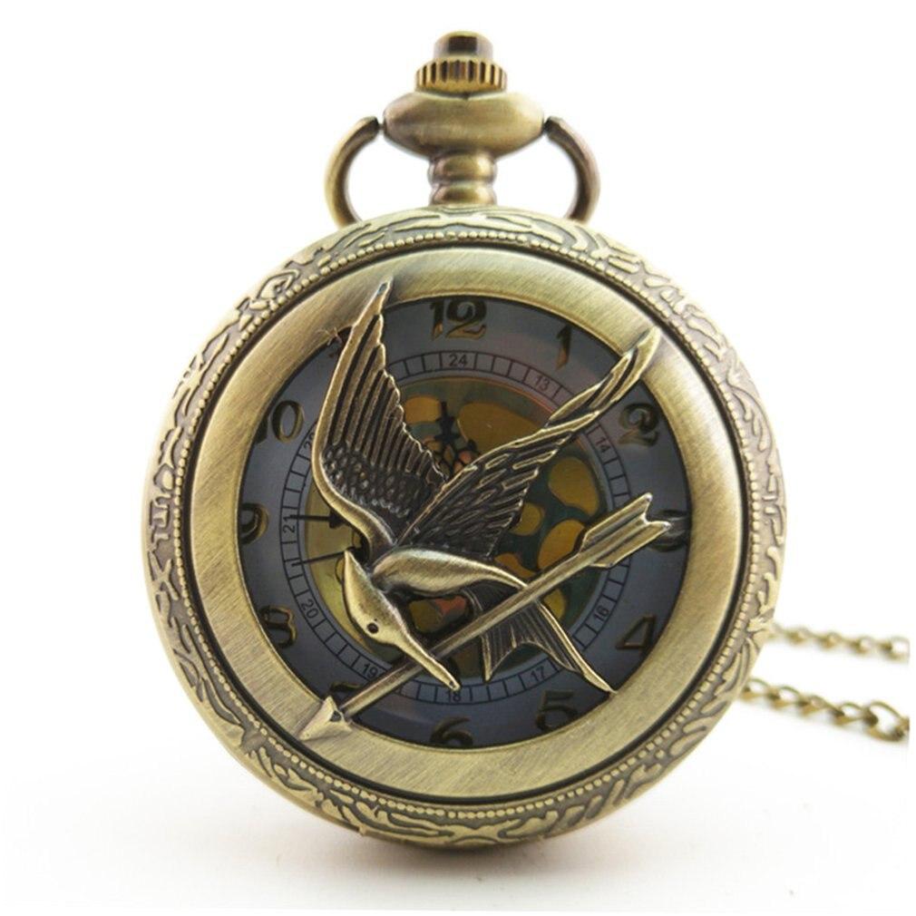Vintage Classic Owl Series Charm Fashion Men Women Quartz Pocket Watch Unisex Necklace Pendant Watches Chain Best Family Gifts