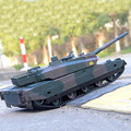 Remote Control Tank Large Charging Battle Tank Toy Remote Control Car Car Tank Model Boy Toy Alloy Remote Control Toy