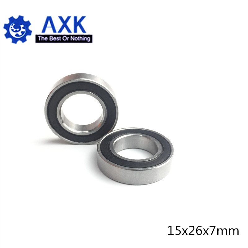 15267 Hybride Keramische Lagers 15X26X7 Mm ABEC-1 (1 Pc) fiets Bottom Beugels & Spares 15267RS Si3N4 Kogellagers 15267-2RS