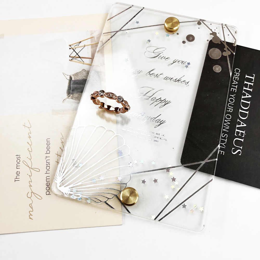 עלה גל להקת טבעת, תומאס סגנון גלאם אופנה טובה Jewerly עבור גברים & נשים, 2017 Ts מתנת ב 925 סטרלינג כסף, סופר עסקות