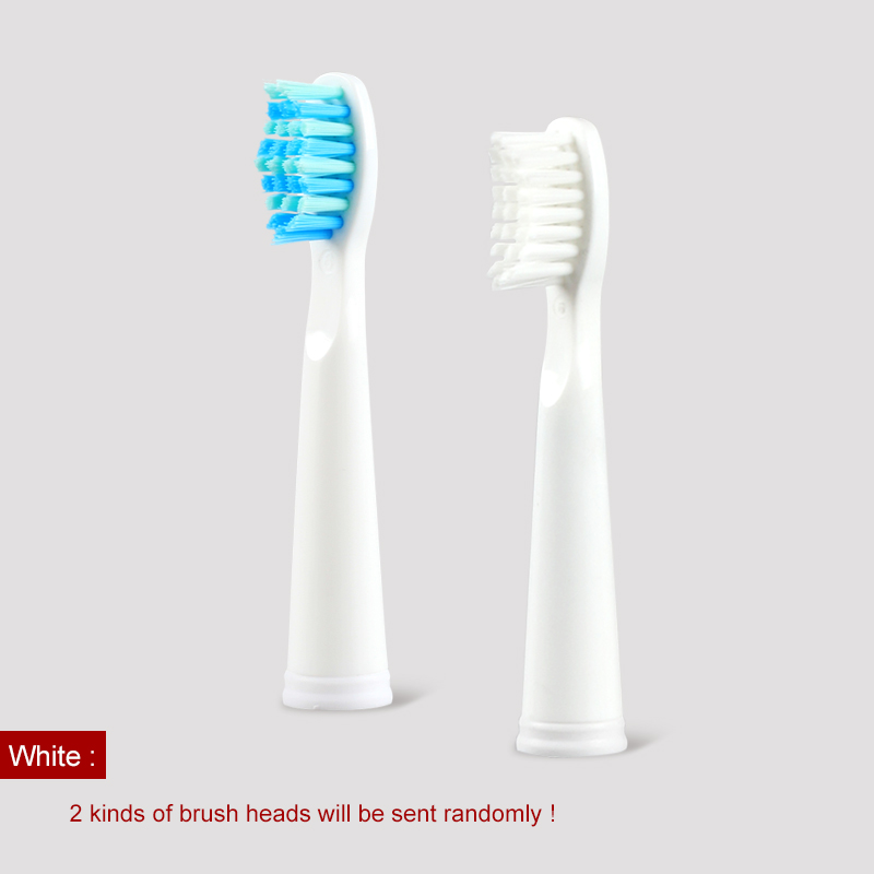 5pcs/lot Original Electric Toothbrush Head for SG507/E4/SG515/SG958 Soft Bristles Replaceable Brush Heads Deeply Cleaning BLACK