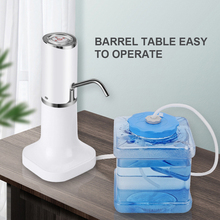 Water Bottle Pump Electric Water Dispenser Wireless Portable Electric Automatic Water Pump Bucket Bottle Dispenser USB