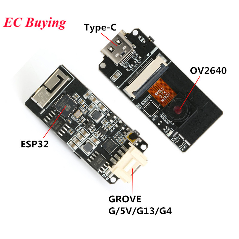 M5Stack ESP32 ESP32-CAM Modul OV2640 Kamera Modul Entwicklung Bord WiFi Modul 5V Bluetooth Typ-C Hain Port 3D für Arduino