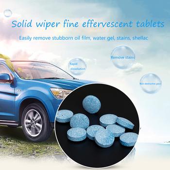10 5 1 sztuk nowa wycieraczka lita grzywny tabletka musująca okno czyszczenie szyby przednie samochodowe czyszczenie samochodu okno samochodu myjnia samochodowa tanie i dobre opinie CN (pochodzenie) Nie przeciw zamarzaniu other 2years 1pcs