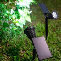 Luz led solar impermeable para jardín, luz Led para patio de casa, luz de césped para exteriores, lámpara luz led Solar para jardín de camino