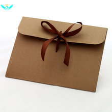 Ретро конверты Премиум с лентами для приглашений ручной работы