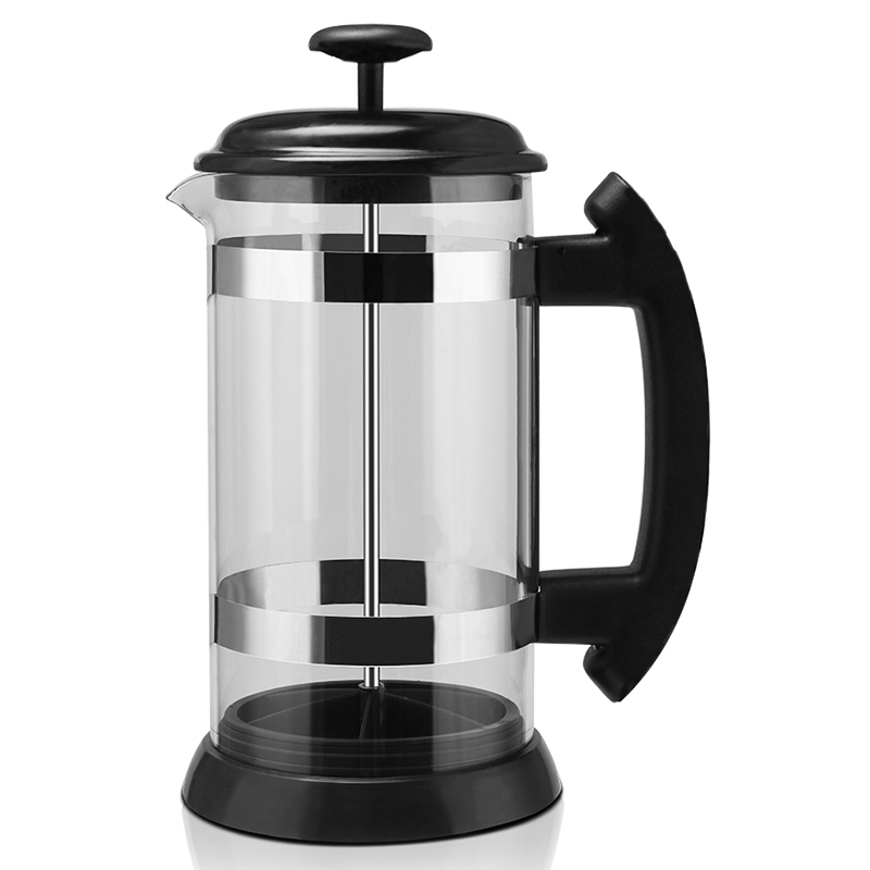 French Press Coffee/Tea Brewer Coffee Pot Coffee Maker Kettle 1000Ml Stainless Steel Glass for Coffee Drinkware|Coffee Pots| |  - title=
