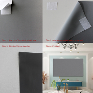 Image 4 - Projection Screen 72 84 100 120 Inch 16:9 4:3 Reflective Cloth for XGIMI H1 H2 H1S Z6 Z5 Z3 JMGO J6S E8 UNIC UC40 UC46 Projetors
